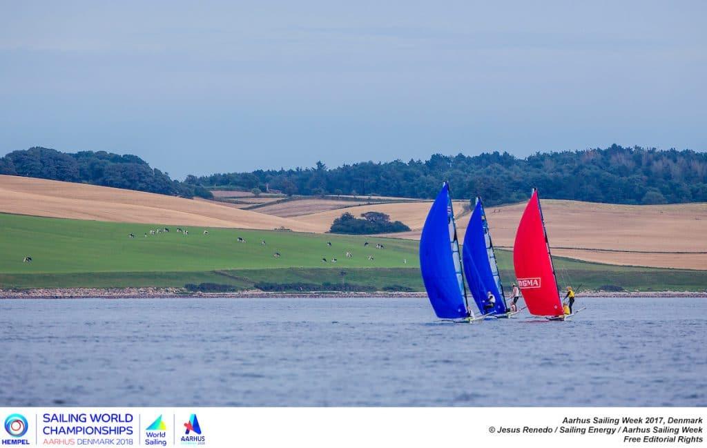 Die Sailing World Championships finden 2018 vor Aarhus statt. Photo © Jesús Renedo / Aarhus Sailing Week