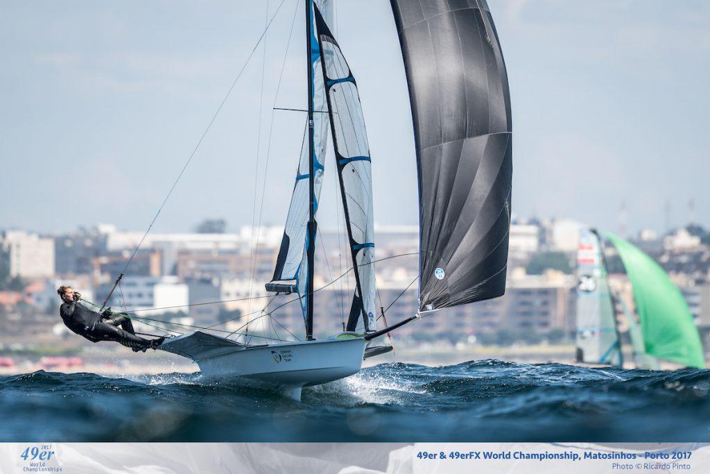 Victoia Jurczok und Anika Lorenz zeigten konstant gute Leistungen in teilweise sehr starken Winden© Ricardo Pinto   rspinto.com