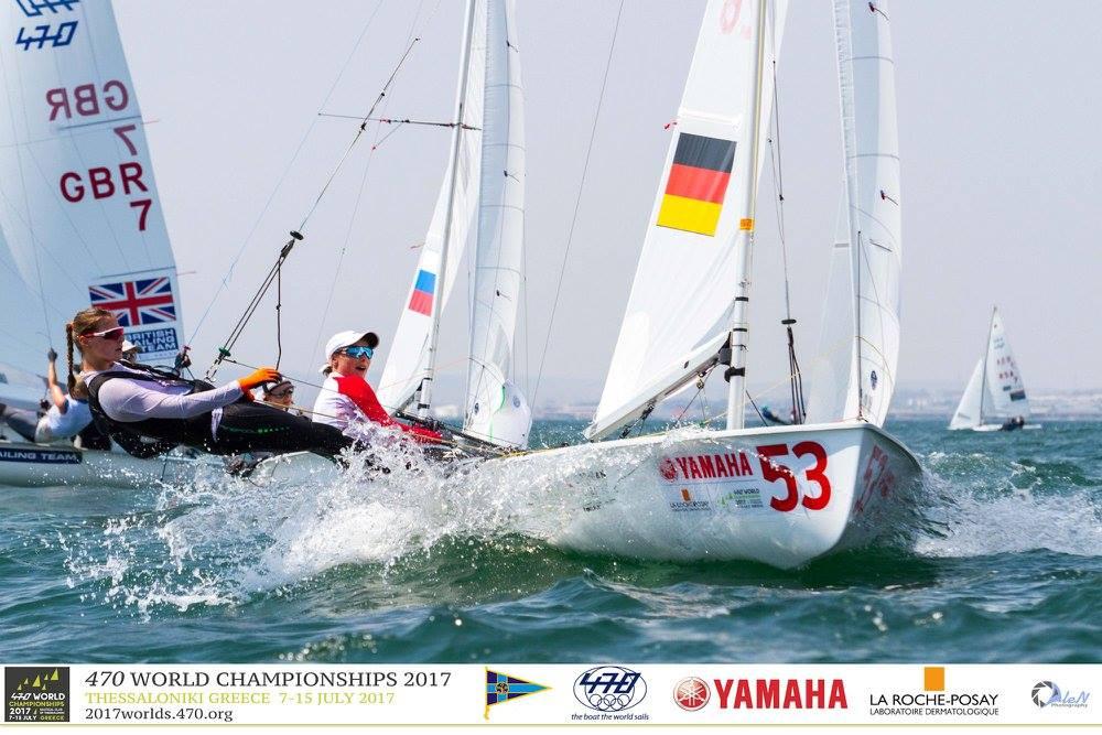 Frederike Loewe und Anna Markfort erreichten Platz 15.