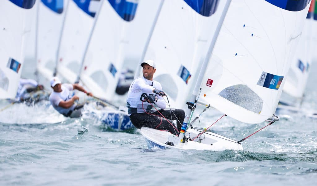 Philipp Buhl Olympia regatta