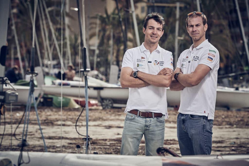 Simon Diesch und Philipp Autenrieth