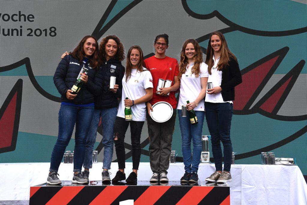 Nadine Böhm und Ann-Christin Goliaß führten die Wertung zwei Tage an und kämpften sich im Medal Race zurück aufs Podium.