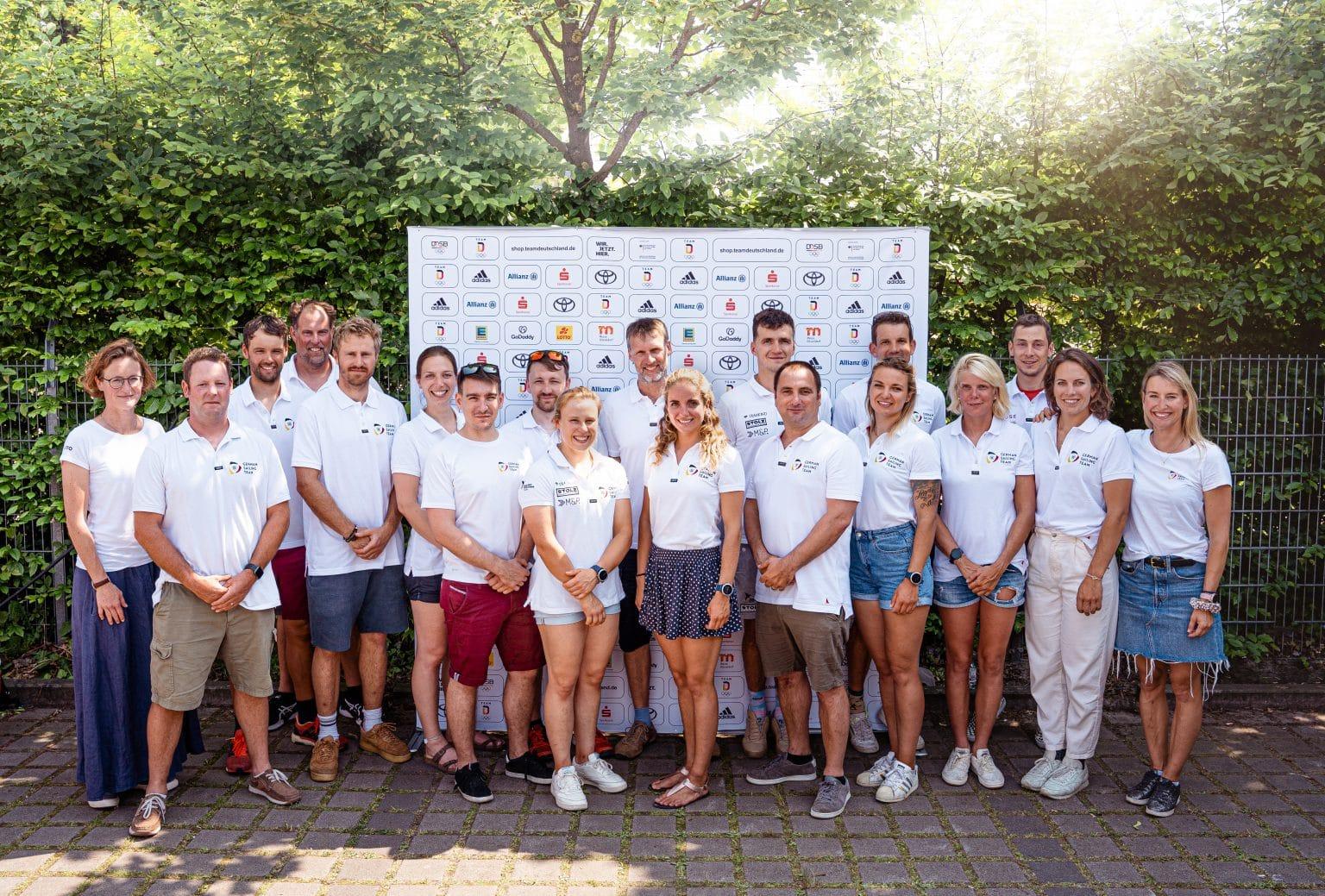 Segel-Team Olympia Tokio 2020