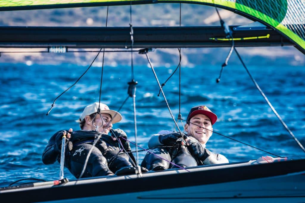 Erik Heil und Thomas Plößel. Foto: DSV/Lars Wehrmann