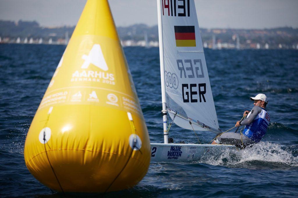 Philipp Buhl ist wieder dran an der Laser-Konkurrenz. Foto: Felix Diemer