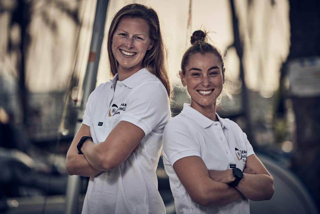 Frederike Loewe und Anna Markfort