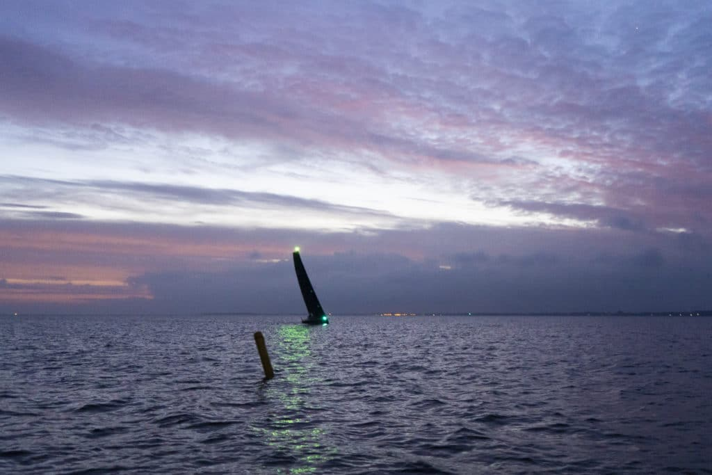 Mixed Offshore Nachtsegeln Eike Schurr