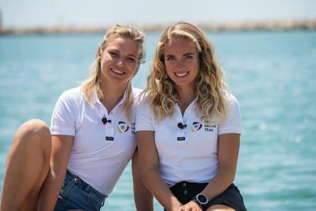 Luise Wanser und Anastasiya Winkel