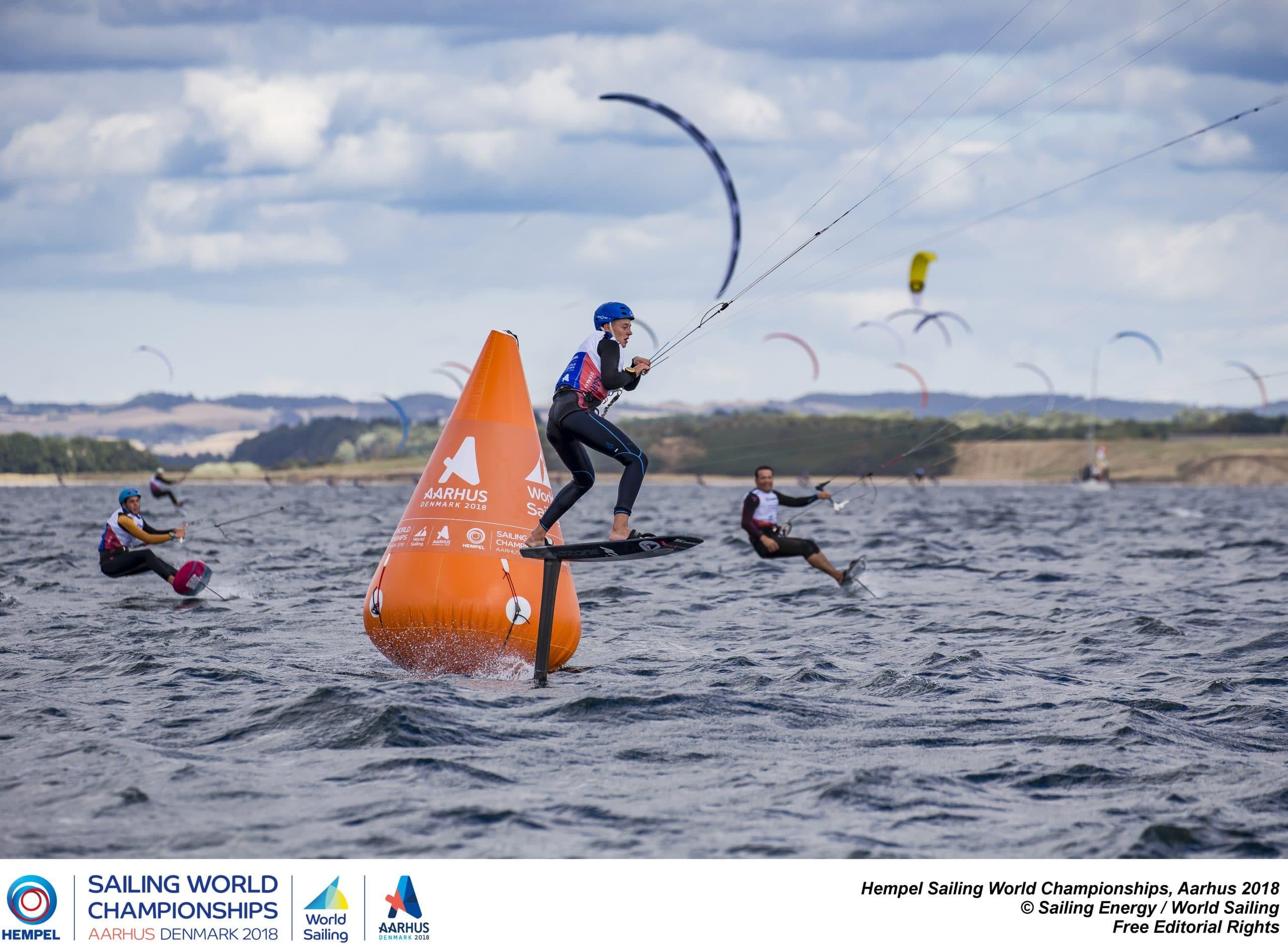 Kitesurfen Slalom