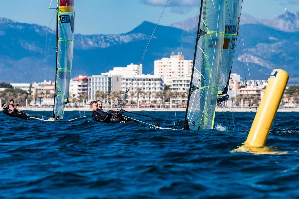 Max Stingele und Linov Scheel, hier beim Frühjahrstraining vor Mallorca. Foto: Lars Wehrmann