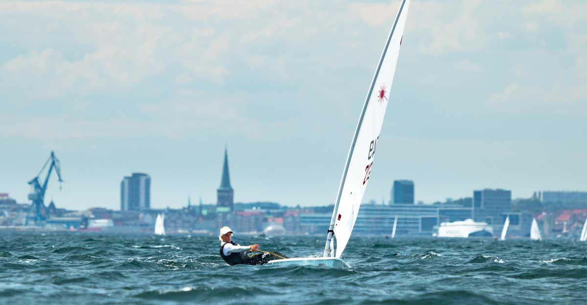 Svenja Weger beim Training vor Aarhus. Foto: Tobias Krüger