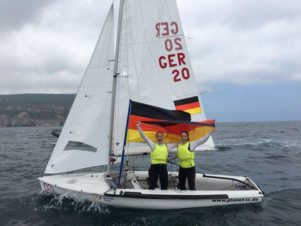 Dahnke Winkel Junioren-Europameisterinnen 470er